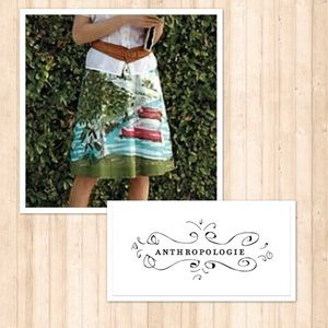 Anthropologie We Heart Vera sailboat Skirt 10